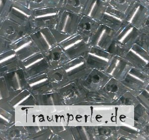 4 mm Würfel Spakling Pewter Lined Crystal 242
