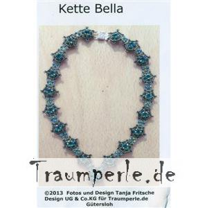 Anleitung Kette Bella incl. Material ohne Nadel,Faden und...