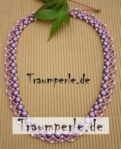 Anleitung Kette Candy-Twist in Rosa incl. Material von...
