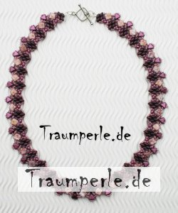 Anleitung Kette Tiley Rosa incl. Material von Tanja Fritsche