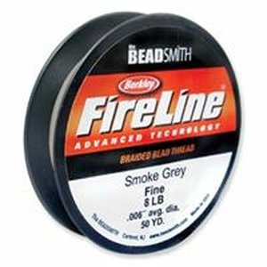 4LB, 0,10mm Fireline Bead Thread Smoke B, 110 Meter,...
