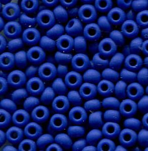 2,6mm Rocailles OPAQUE BLUE MATT 33050