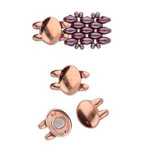 SUPERDUO VERSCHLUSS ROSE GOLD  PLATE