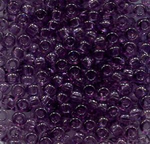 2,6mm Rocailles Crystal Blauviolet , Solgel Dyed 01122
